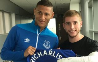 Richarlison gives signed shirt to fan who dislocated his elbow during goal celebrations