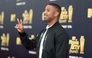 Michael B Jordan surprises girl who took a cardboard cut-out of him to the prom