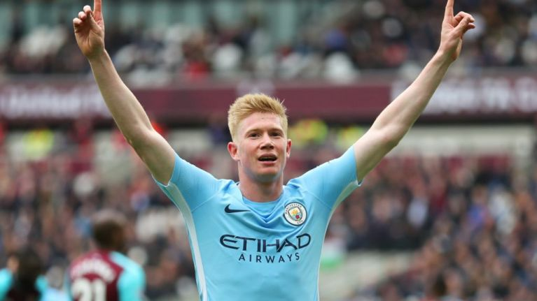Kevin De Bruyne will not require surgery following knee injury