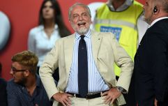 Napoli owner calls for Liverpool to be kicked out of Champions League