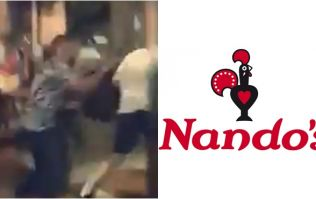 Billy Joe Saunders chased out of Nando's for throwing chicken at Deontay Wilder