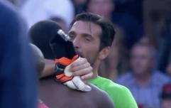 Gianluigi Buffon plays against former teammate's son for Paris Saint-Germain