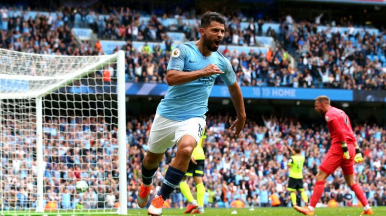 Sergio Aguero just became one of the top 10 goalscorers in Premier League history