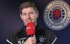 Steven Gerrard handled Robbie Savage's tricky questions on Celtic very well