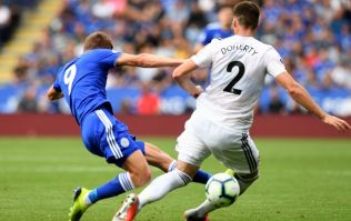 Jamie Vardy went to away dressing room to apologise for tackle on Wolves' Matt Doherty