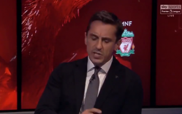 Gary Neville went all in on Big Sam after his Unai Emery criticism