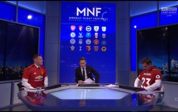 Gary Neville and Jamie Carragher did the unthinkable on MNF