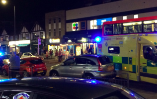 Three people shot outside north London tube station