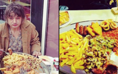 Pete Doherty destroys 'mega breakfast' eating challenge in under 20 minutes