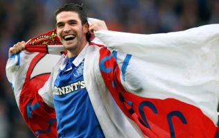 Rangers confirm signing of Kyle Lafferty from Hearts
