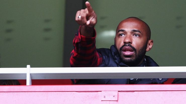 Thierry Henry wants former Arsenal teammate to join him at Bordeaux