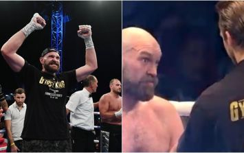 Interesting exchange took place between Tyson Fury and trainer before 10th round
