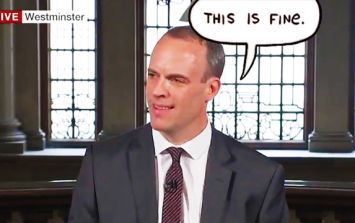 COMMENT: Calm down everyone - Raab C Brexit says we won't starve!