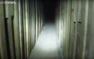 US Police find secret drug tunnel to Mexico in an abandoned KFC