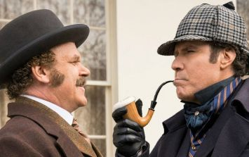 Will Ferrell and John C. Reilly are back in Holmes and Watson and here's the first poster