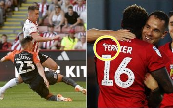 Why there's a squiggle next to players' names in EFL games this season