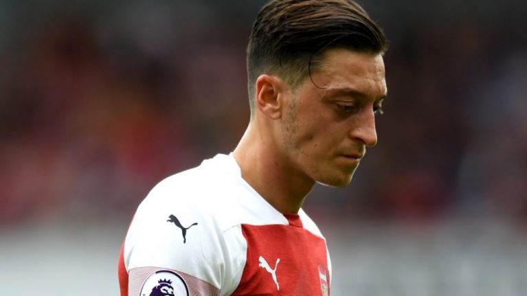Mesut Özil set to miss West Ham clash through illness