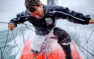 On board the fitness regime of an elite sailor