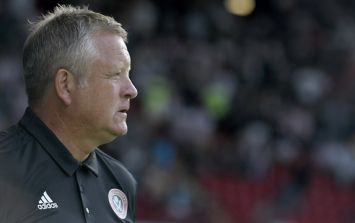 Chris Wilder apologises for stadium announcement during rout against Aston Villa