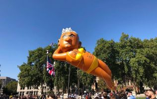 Far fewer than expected turn out to bikini blimp protest to 'humiliate Sadiq Khan in his hometown'