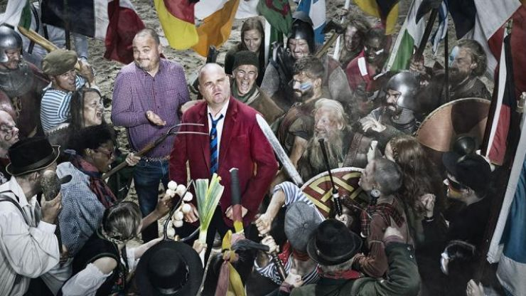 "Al Murray asks ""Why does everyone hate the English?"" in new series"