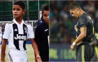 Cristiano Ronaldo Jr. puts father to shame with four goals on Juventus debut