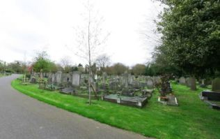 Young man shot dead in north London cemetery
