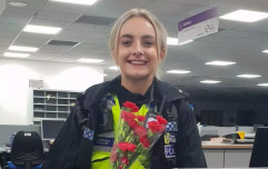 Man buys flowers for police officer who talked him down from bridge