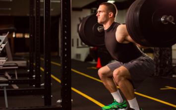Barbell squats burn more calories than any other exercise