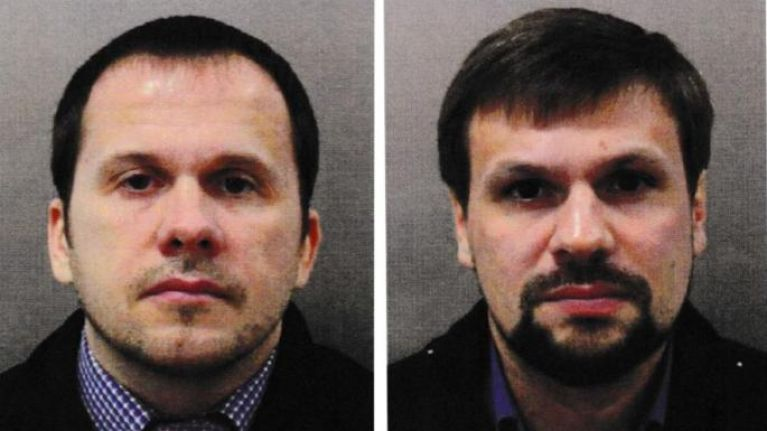 Two Russians charged with Salisbury attack, state implicated at 'senior level'