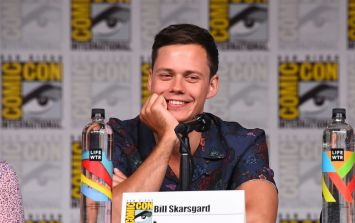 It: Chapter Two leaked pics show Bill Skarsgard completely transformed as Pennywise