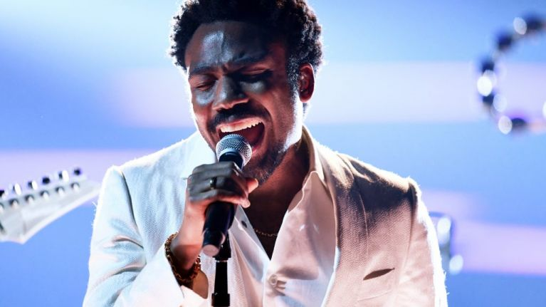 """Childish Gambino debuted a new song last night on first date of """"final"""" tour"""