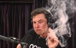 Watch Elon Musk smoke weed on the Joe Rogan Experience