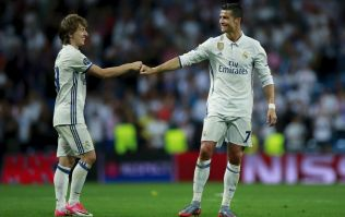 Luka Modric reveals what Ronaldo told him after winning the UEFA Player of the Year award