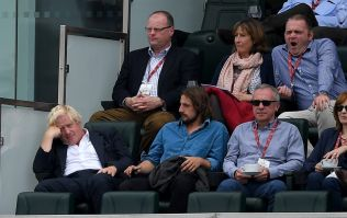 Boris Johnson appeared on the big screen at the Oval and was booed by the crowd