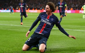 Liverpool pull out of race for Paris Saint-Germain midfielder