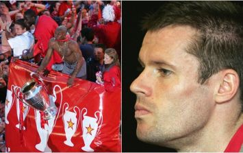 Jamie Carragher disputes Djibril Cisse's claim about 2005 Champions League final