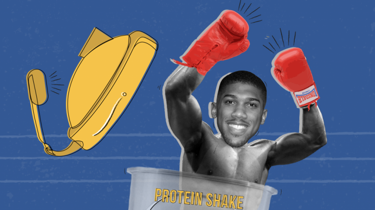 Anthony Joshua recommends these three exercises for power and strength