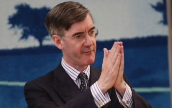 Protesters show up at Jacob Rees-Mogg's house and berate him about Brexit