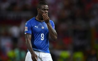 Mario Balotelli returned to preseason training in awful physical condition