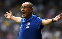 Maurizio Sarri absolutely lays into Chelsea players after defeat to Arsenal