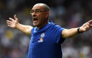 Higuain and Luiz have altercation in training, Sarri throws his hat on the ground in anger