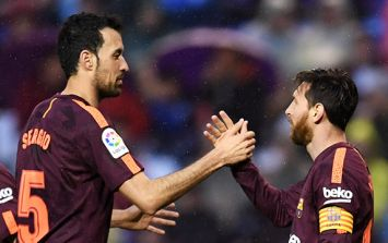 Pep Guardiola reveals how it took Messi two days to give his seal of approval to Sergio Busquets