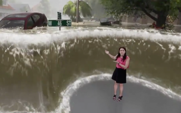 Terrifying flood simulation on The Weather Channel shows the destructive chaos of Hurricane Florence