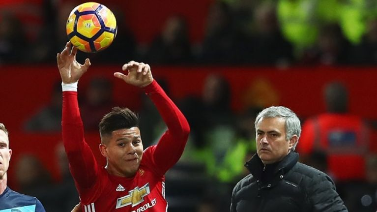 Jose Mourinho's U23 plan for Marcos Rojo didn't work out as he'd hoped