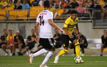 WATCH: Another Jadon Sancho assist gives Borussia Dortmund the lead