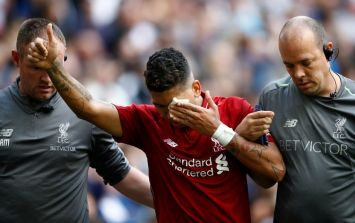 Image surfaces revealing true extent of Roberto Firmino's gruesome eye injury