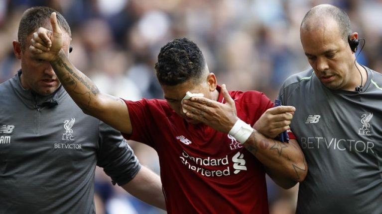 Roberto Firmino provides update after horrific eye poke