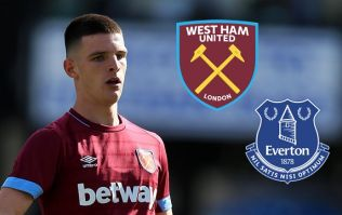 There was a strong reaction to Declan Rice's performance against Everton