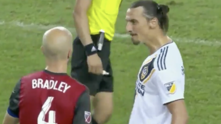 Zlatan Ibrahimovic had a typically Zlatan response to Michael Bradley spat